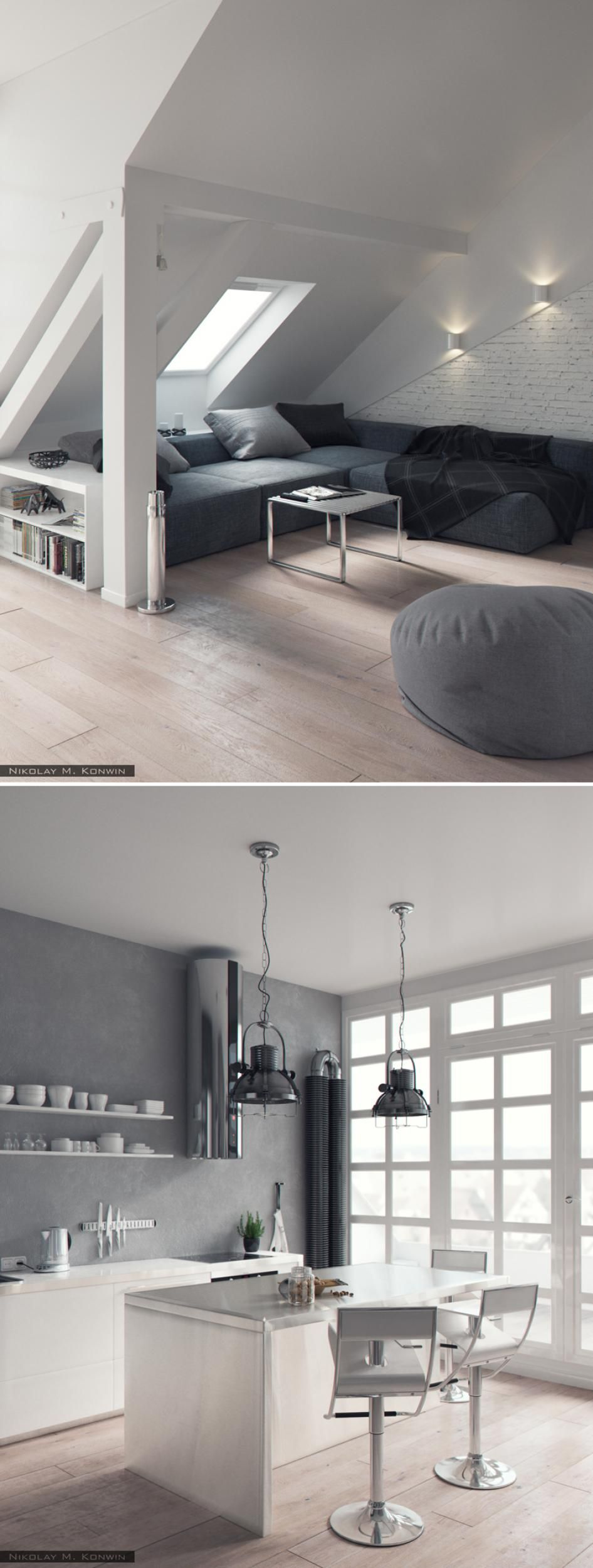 Dachbodenausbau Ideen Like The Living Room Style Layout For The Attic Making It Home