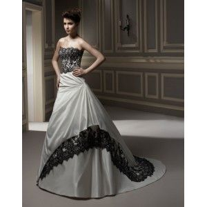 Black And Silver Wedding Dresses at Exclusive Wedding Decoration ...