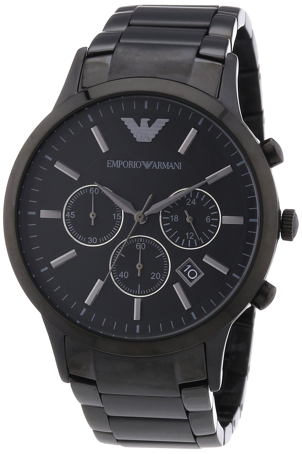 Armani Uhren Armani Classic Chronograph Stainless Steel Black Men S Watch