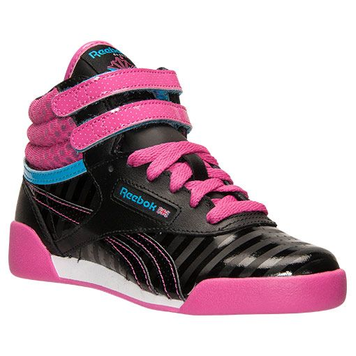 13d3ec2d280 Girls  Preschool Reebok Freestyle High Casual Shoes - V63072 BPK