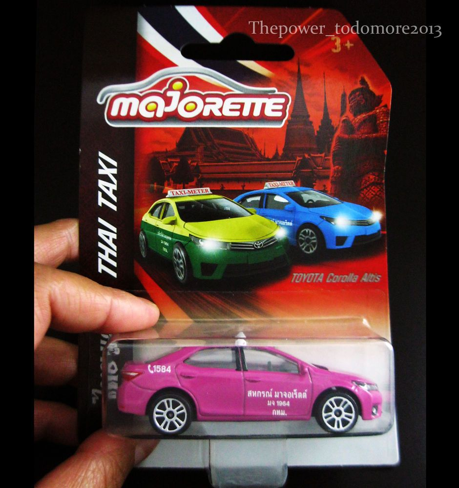 TOYOTA COROLLA ALTIS Majorette Metal DieCast model car