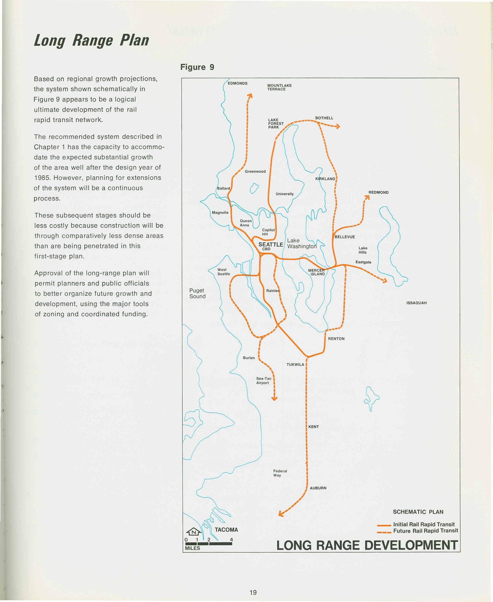 Figure 9 Long Range Development With Images Development Rapid Transit Light Rail