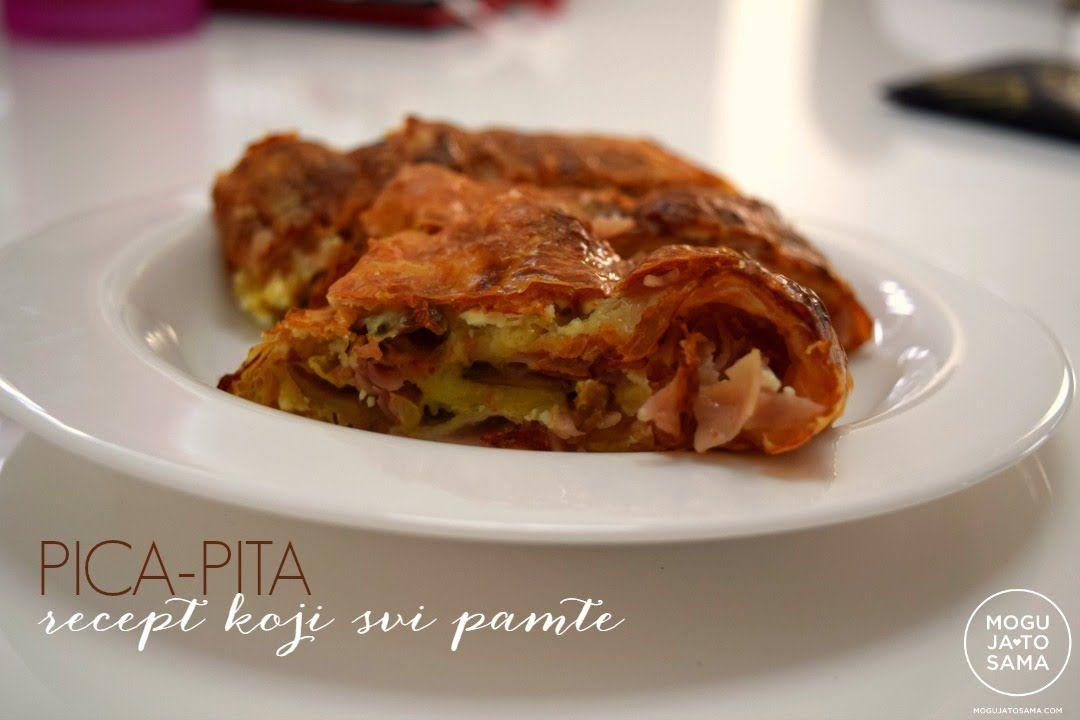 PICA pita - neodoljivo hrskava | TJESTA | Pinterest