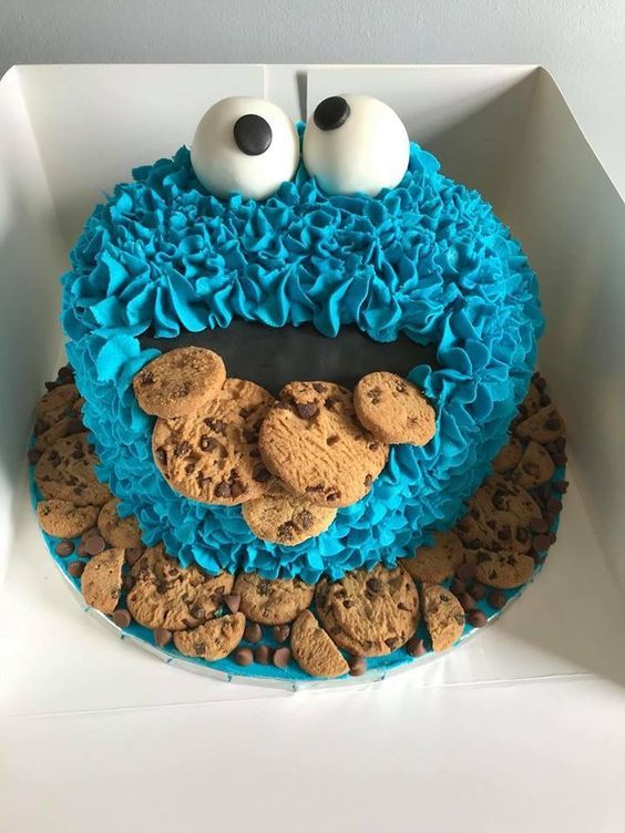Excellent Pin By Sabriena Regalado On Cookie Monster 1St Bday In 2020 Funny Birthday Cards Online Elaedamsfinfo