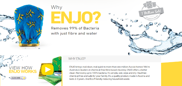 Extra 25 Off With Enjo Coupon Purchase Best Quality Cleaning