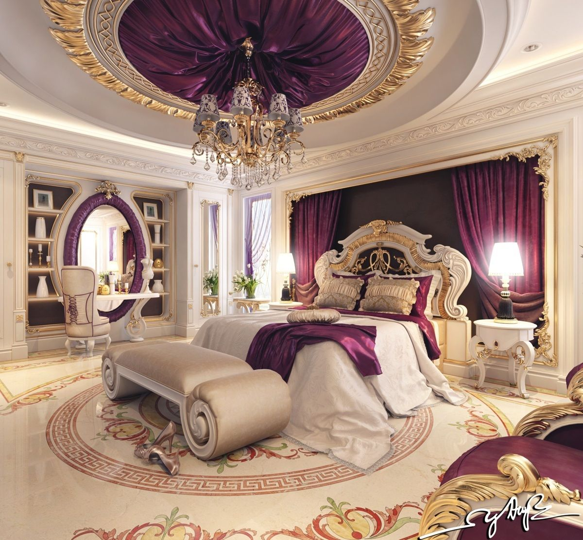 Best 8 Luxury Bedrooms In Detail Luxurious Bedrooms Luxury 400 x 300