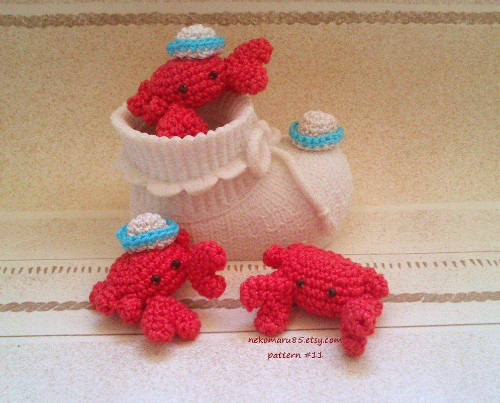 Amigurumi Crab by Nekomaru85 on DeviantArt   crochet   Pinterest