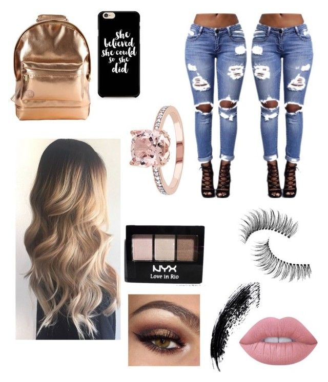 """""""Untitled #40"""" by daisyhuijer on Polyvore featuring Lime Crime, NYX, Trish McEvoy and Mi-Pac"""