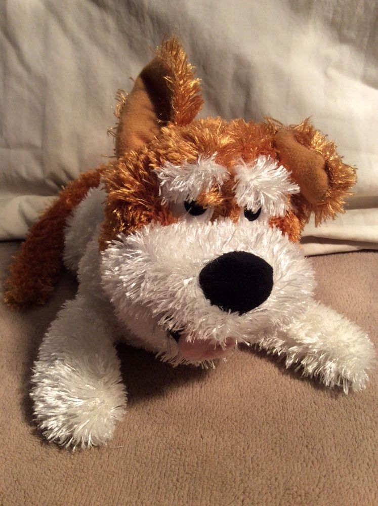 Awesome Chuckle Buddies Motion Activated Rolling Laughing Dog