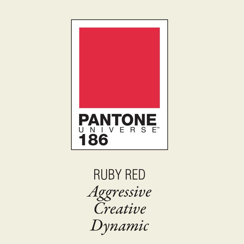 Pantone 186 Ruby Red Box Seletti Metropolitandecor