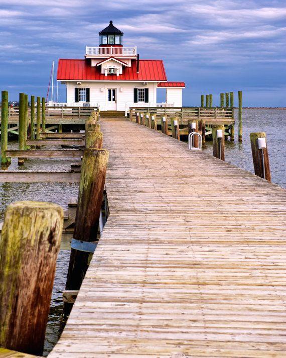 Roanoke Marshes Lighthouse,Lighthouse,North Carolina,NC ...