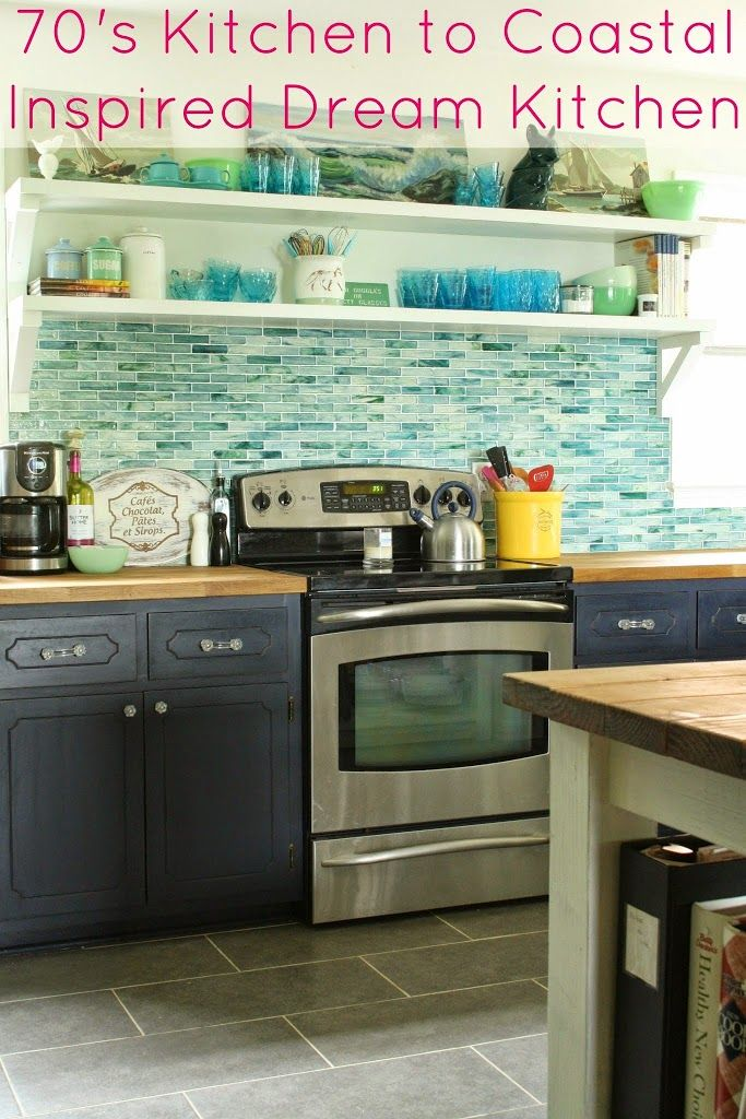 My Shades Of The Sea Vintage Kitchen Or The One Where The