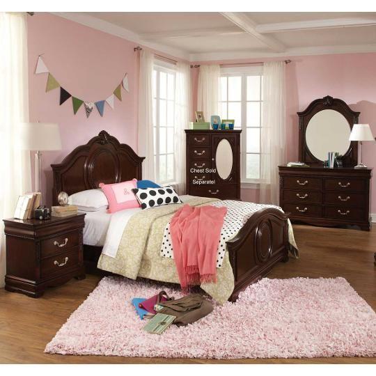 International Furniture 6-Piece Twin Bedroom Set - Charlotte Kid\u0027s