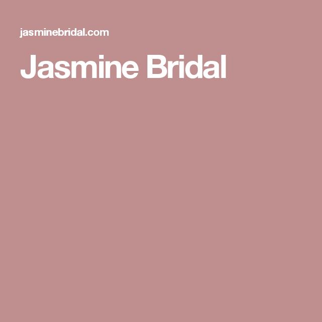 Jasmine Bridal | MOB | Pinterest