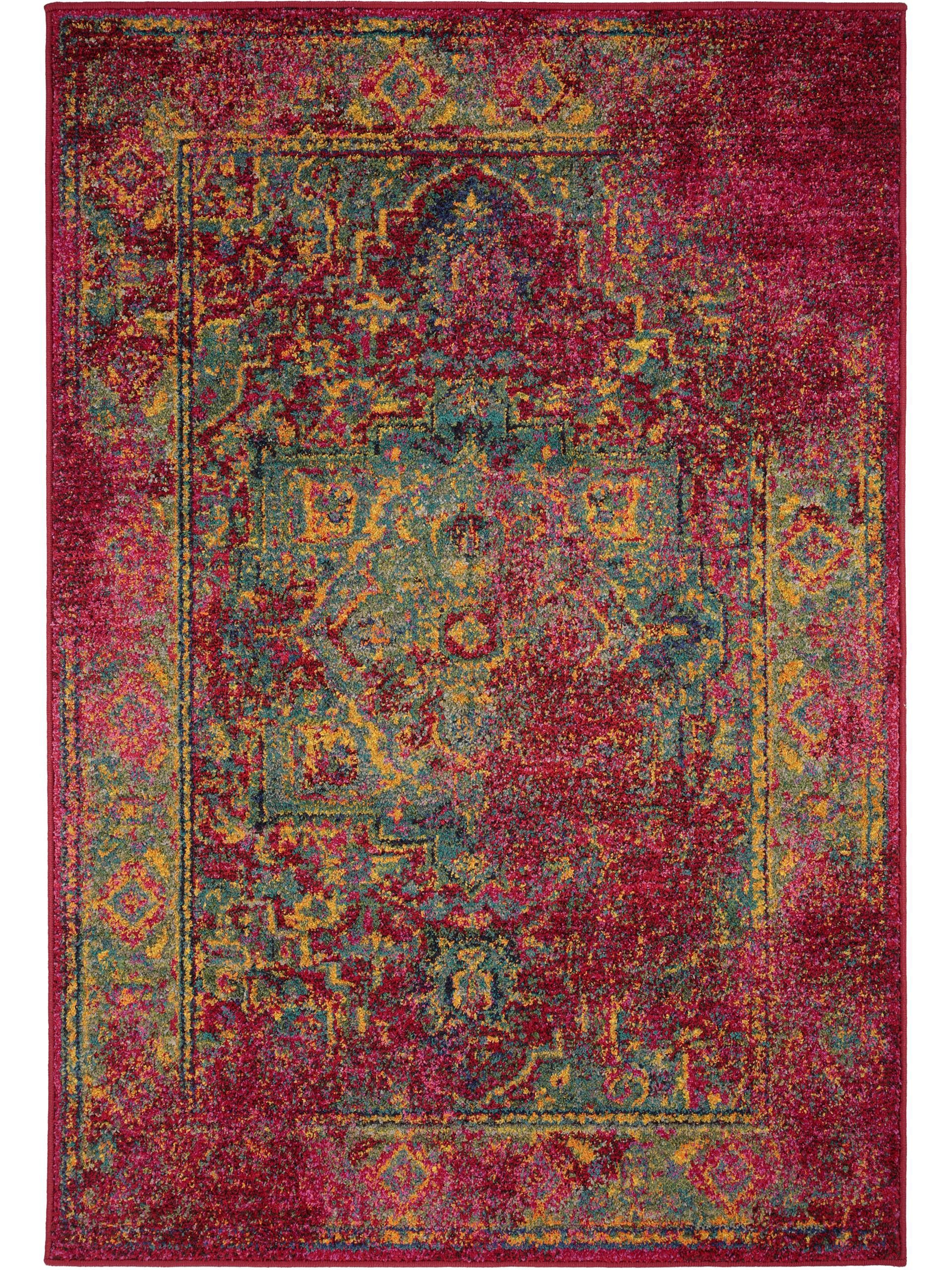 Teppich Liguria Vintage Teppich Liguria Vintage Rot Oriental Style Oriental And
