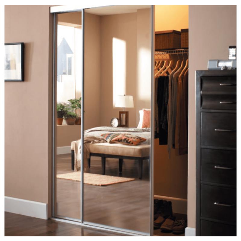 We Love This Chic Cozy Closet With Custom Classyclosetsd Sliding Doors We Use Top Quality Material Mirror Closet Doors Bedroom Closet Design Closet Decor