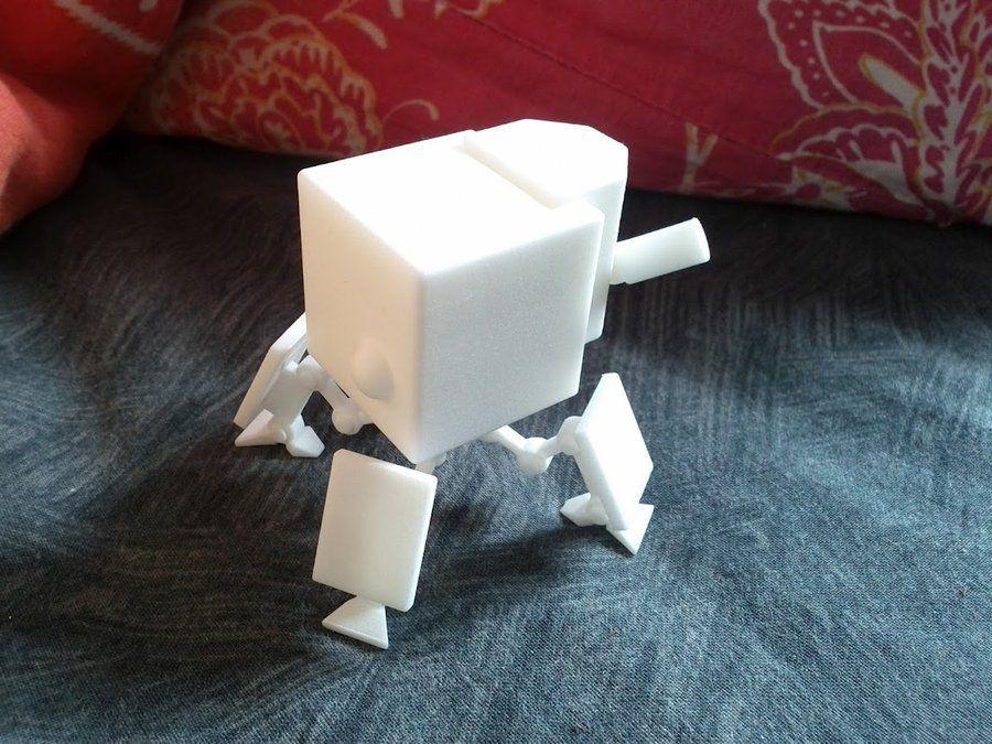 3D printed robot.