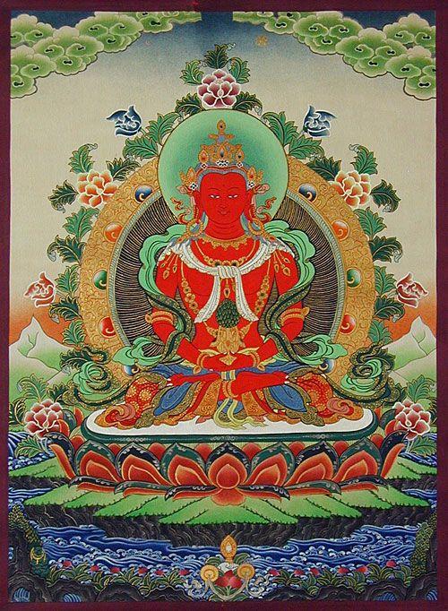 Thangka  Karma Tsering Lama