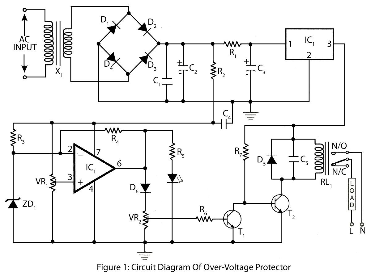 Electrical Project Circuit Diagram