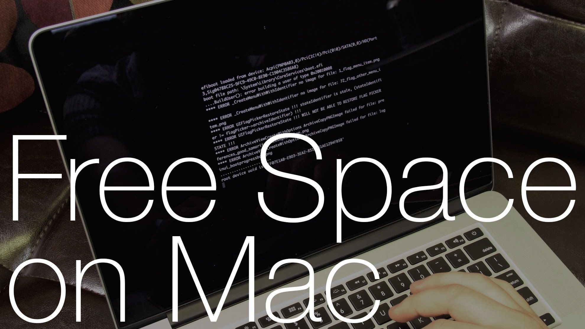 """4 Easy Steps to Delete """"Other"""" Space and Speed Up Your Mac"""