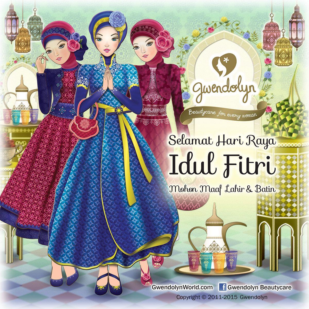 Gwendolyn Happy Idul Fitri 2015