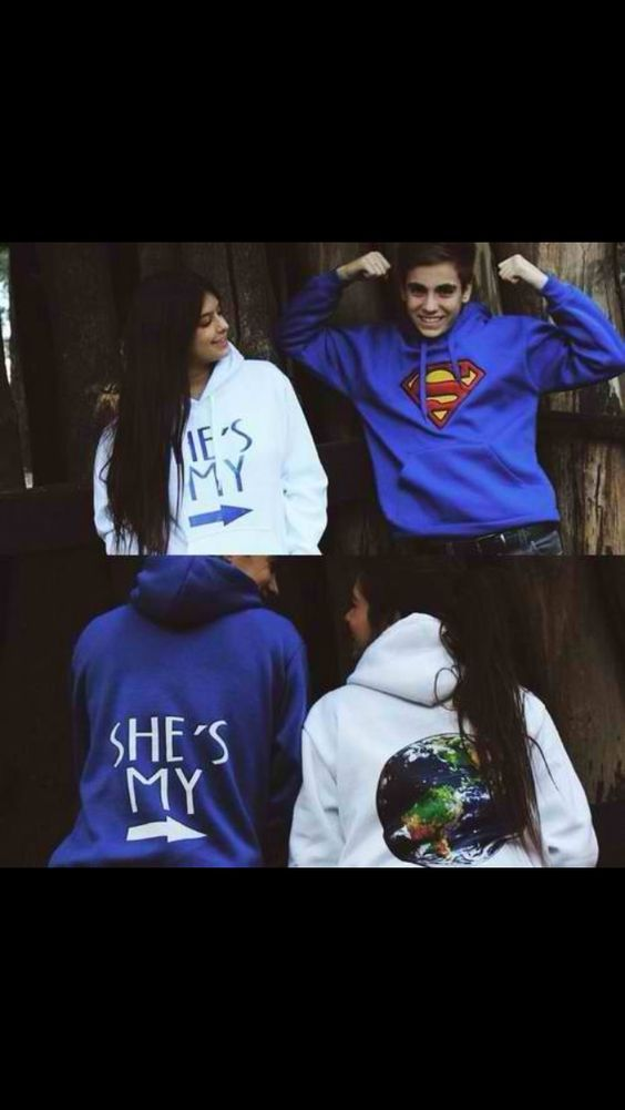 He's my superman. She's my world.