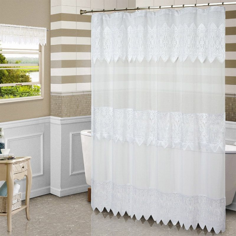 Nice Check Out The Deal On Valerie Macrame Lace Shower Curtain By United Curtain  At BedBathHome.