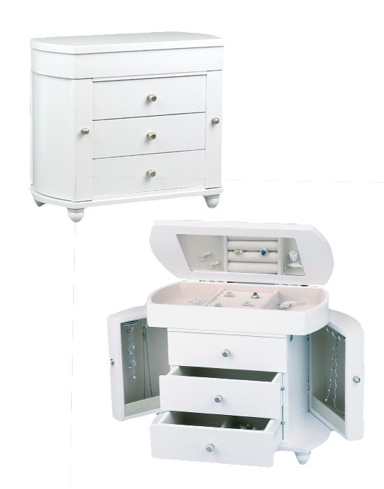 Jewelry Boxes Jewery Pinterest Box Wooden jewelry boxes and