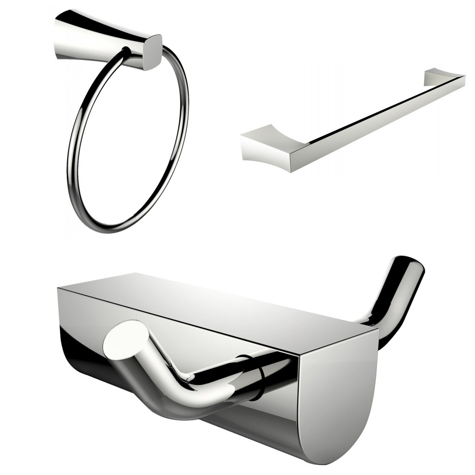 modern towel rack. Wall Mounted Modern Towel Ring With Single Rod Rack And Robe Hook T