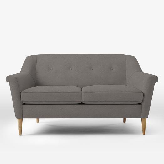 Awesome Finn Loveseat (60.5u0026quot;). Street FurnitureWest ElmBaby ...