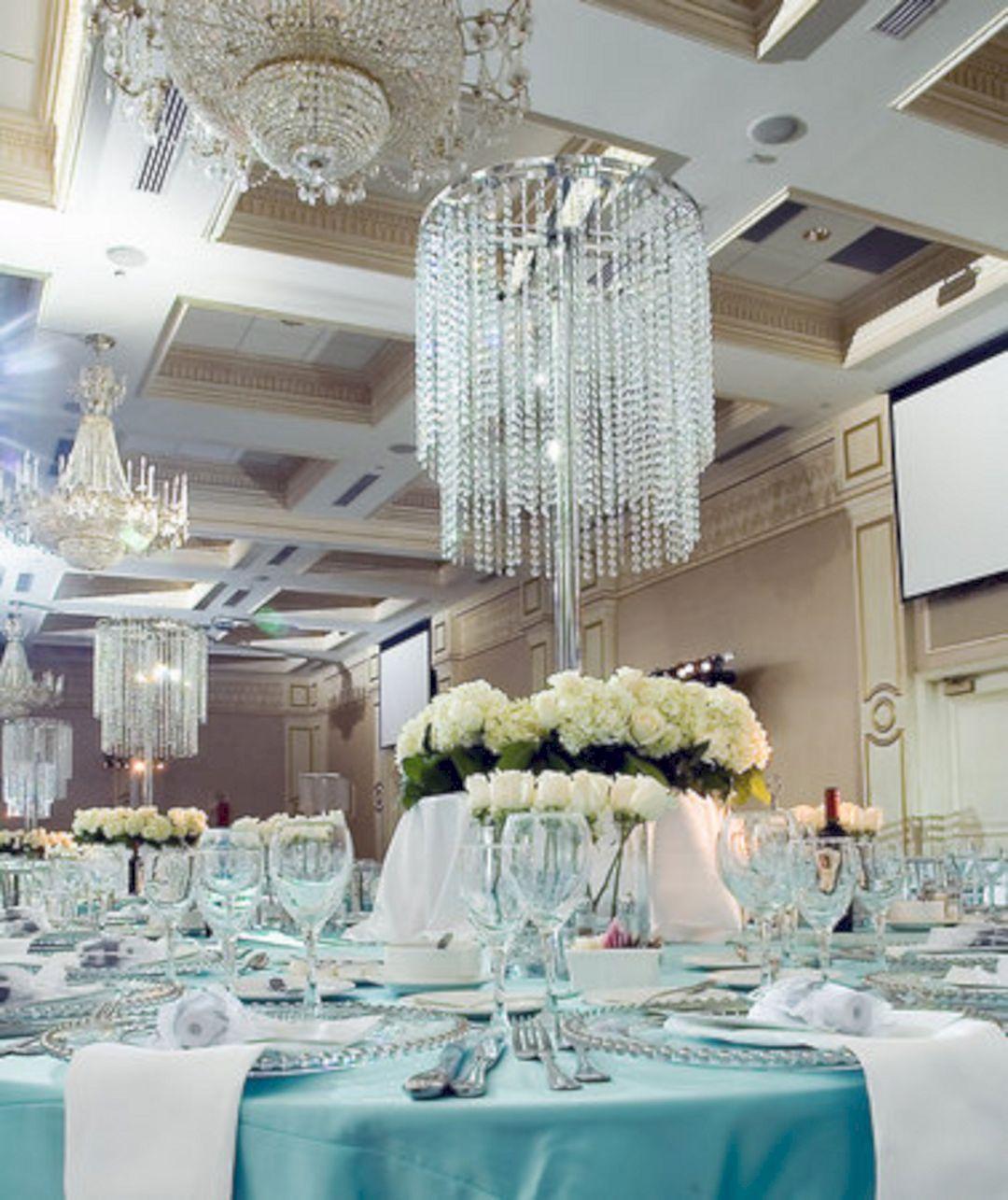 Nice 25 elegant blue and silver wedding decorations ideas