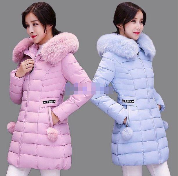 095b07a862a6 Women s Winter Thicken Fur Collar Hooded Long Duck Down Jacket WARM Coats  HOT  fashion  clothing  shoes  accessories  womensclothing   coatsjacketsvests ...