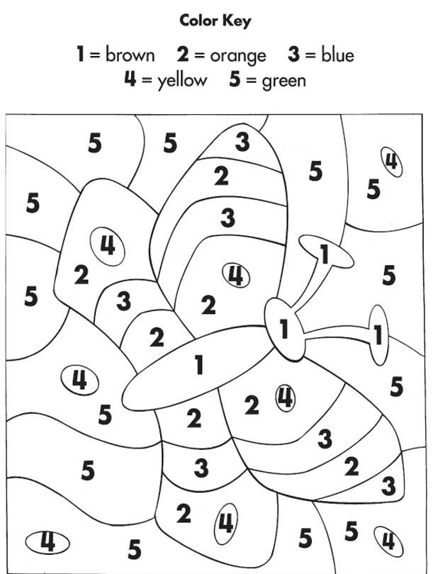 color by number for kids - Bing Images | Education stuff ...