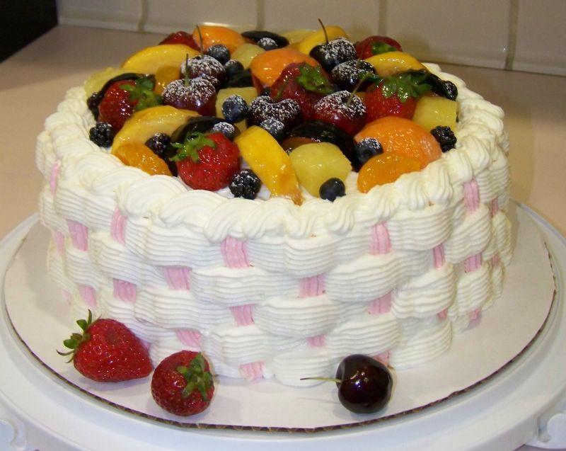 Fruit basket cake amazing cakes creative cakes