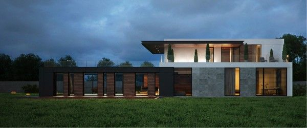 Modern Home Exteriors With Stunning Outdoor Spaces Facades