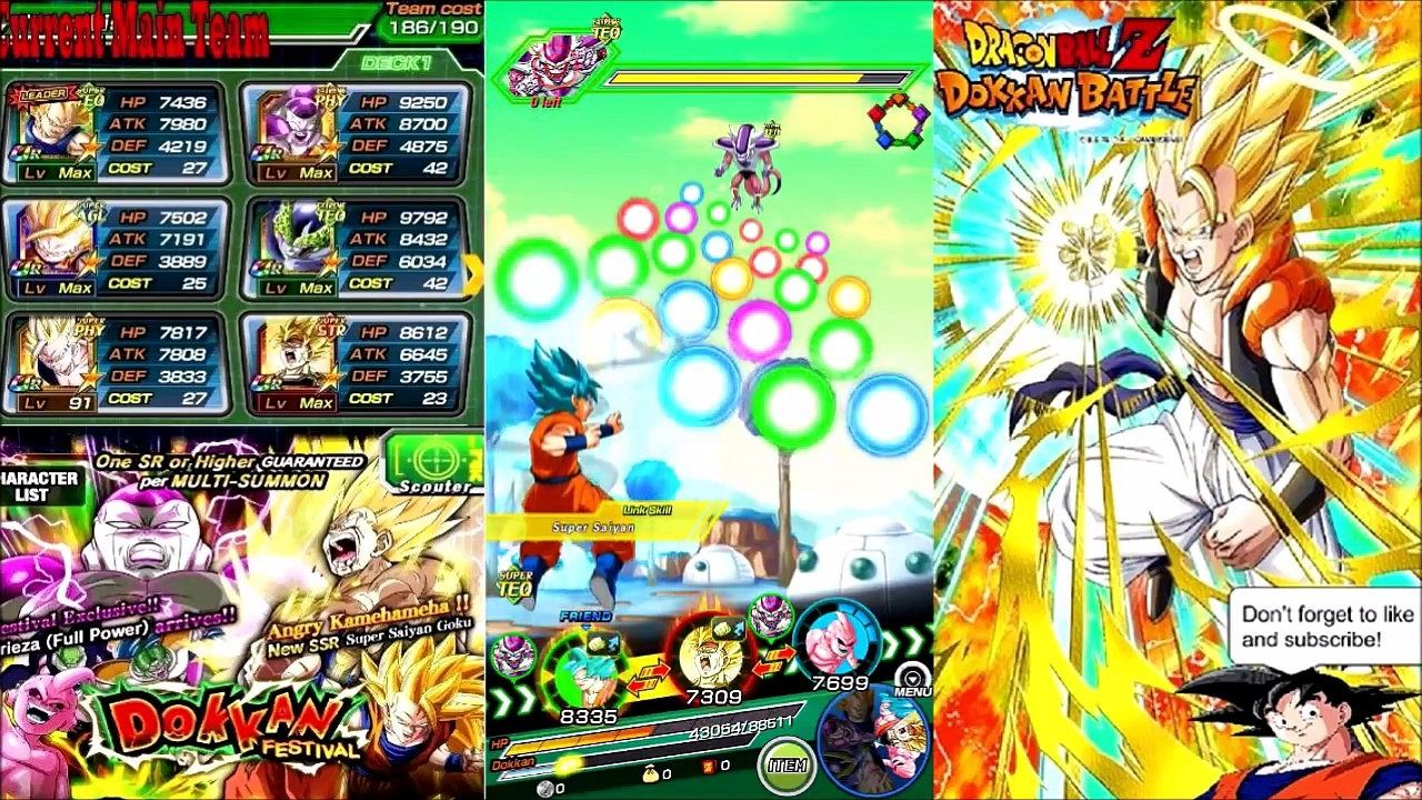 Triks Dragon Ball Z Dokkan Battle Hack Free Zeni And Dragon