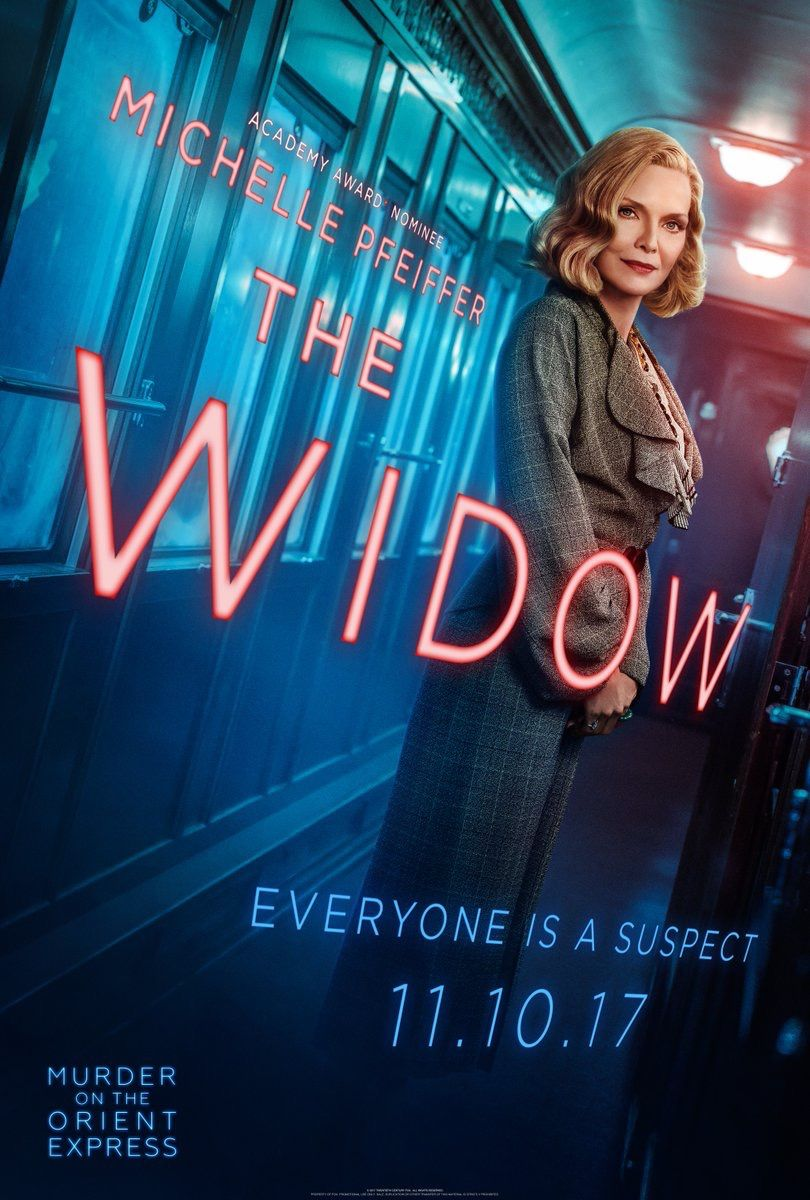 Michelle Pfeiffer... Murder on the Orient Express 2017