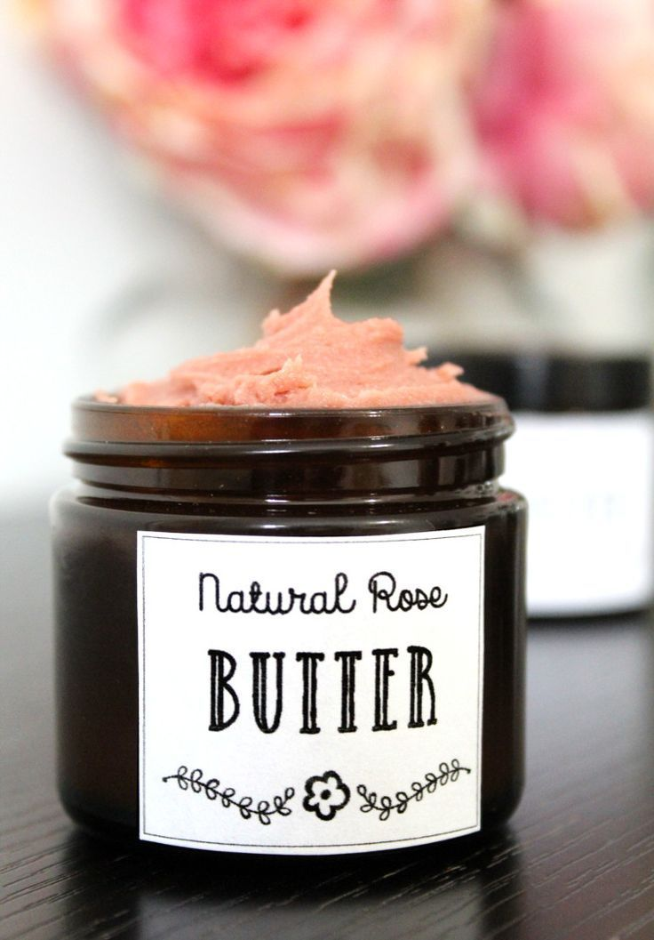 Rose Body Butter DIY! Looking for a vegan friendly moisturizer DIY? This rose body butter recipe fits the bill! Made with natural vegan ingredients, this divine body butter nourishes skin with only plant based ingredients and and won't leave it feeling greasy or heavy. Discover this natural skin care recipe that promotes skin health and natural beauty now at Soap Deli News blog.