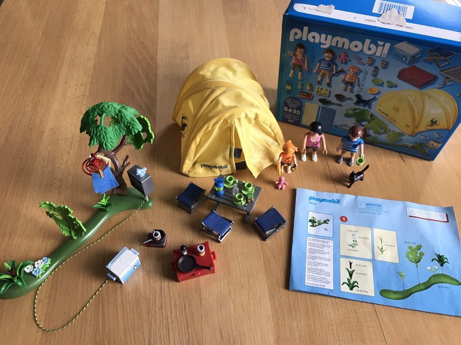 PLAYMOBIL SUMMER FUN SET NO 5435 - LEISURE FAMILY WITH ...