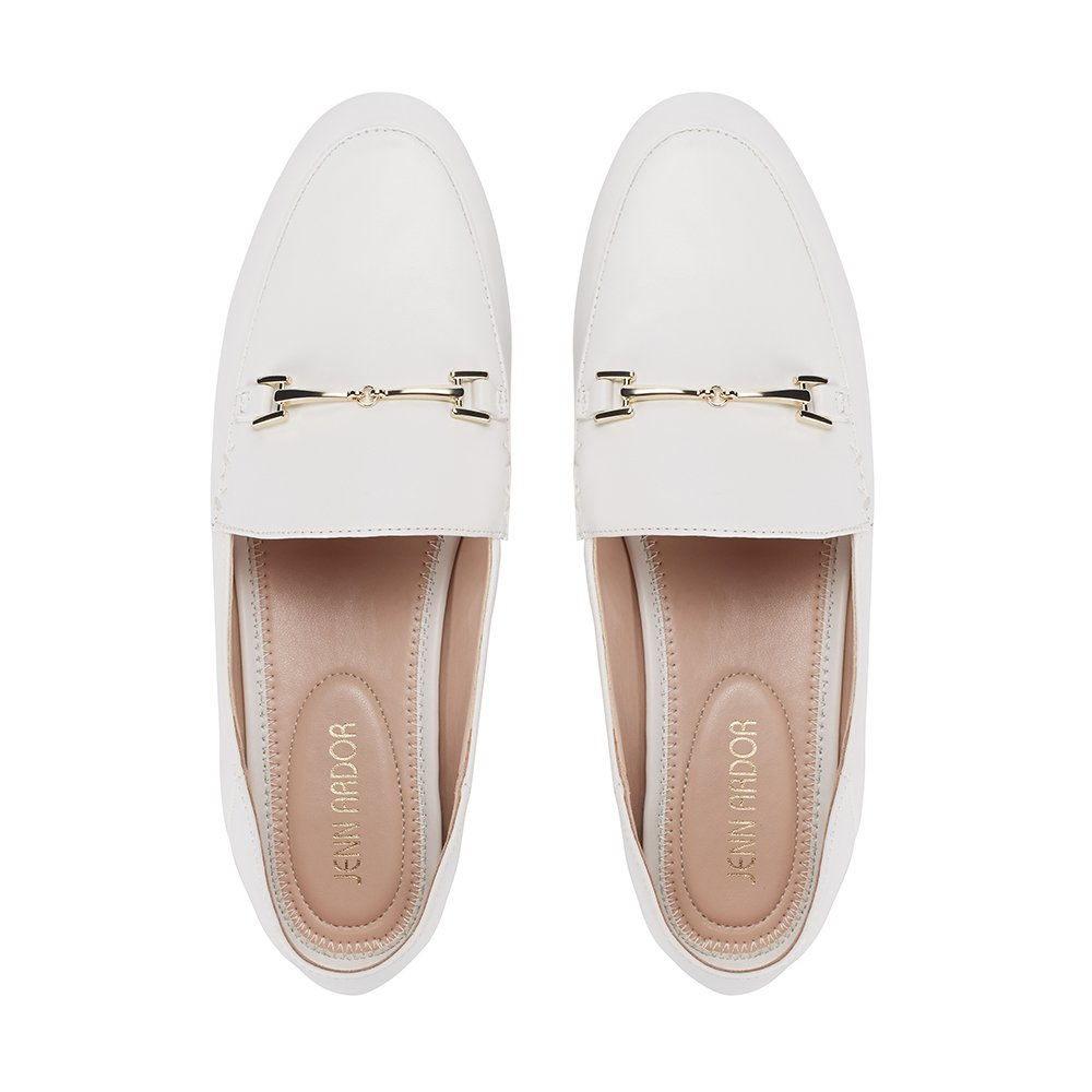 JENN ARDOR Women's Penny Loafers Slip