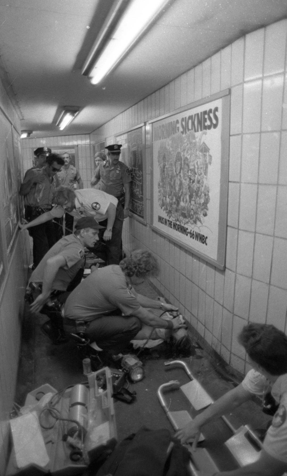 New York City subway crime: 19...