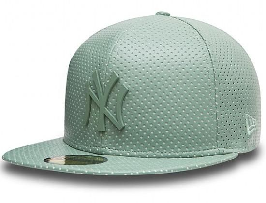 0f834fab Leather NY Yankees 59Fifty Fitted Cap by NEW ERA x MLB | Japanese ...