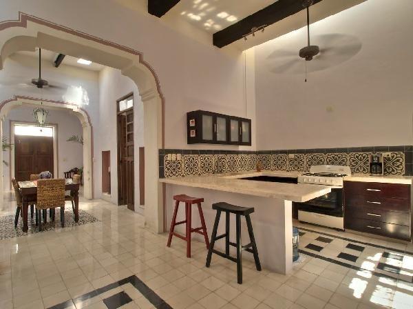 Yucatan Real Estate : ELEGANT COLONIAL HOME  Yucatan Best