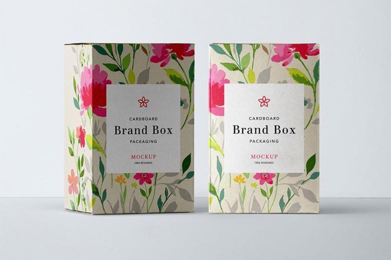 Download Free Psd Cardboard Packaging Mockup Packaging Mockup Box Mockup Free Packaging Mockup