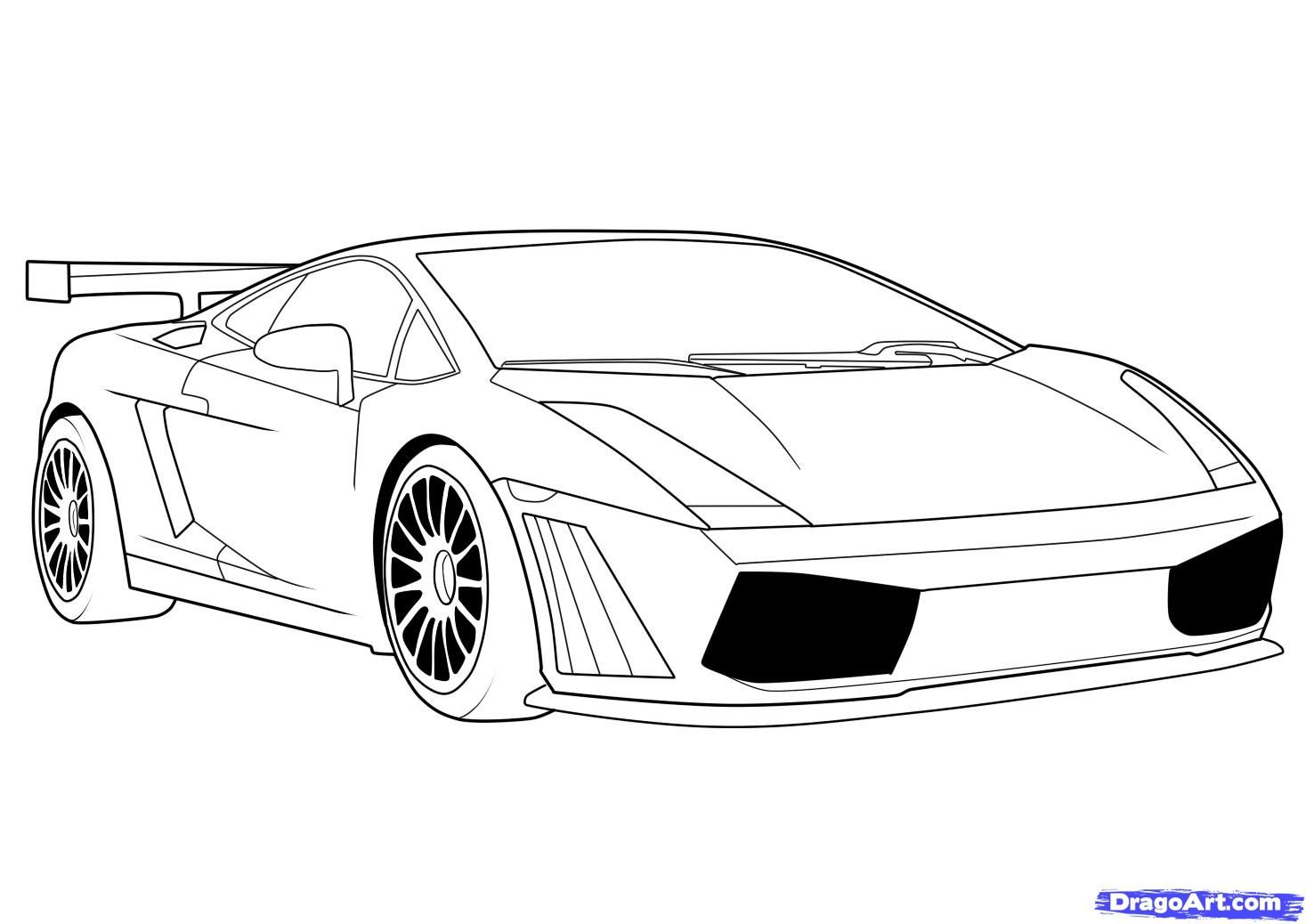 Step 8 How To Draw A Lamborghini