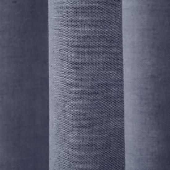 Fresh Linen Curtain Panels (Blue)  | The Land of Nod