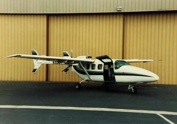 The Spectrum SA-550, a turboprop conversion of a Cessna 337