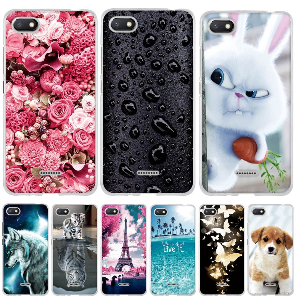 9d4b93b180 Case for Xiaomi Redmi 6A Case Cover Silicone Phone Case for Xiaomi ...