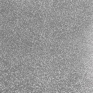 Silver Glitter Wallpaper Holographic Crystal Design DL40703