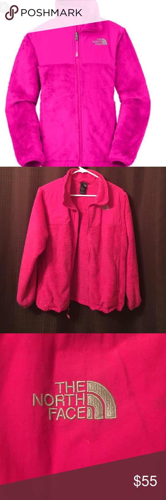 Pink north face jacket. Pink north face jacket girls XL 100% authentic in great condition North Face Jackets & Coats